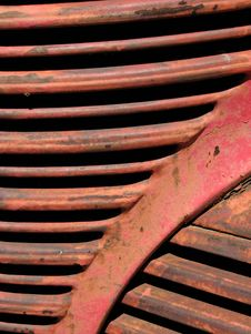 Free Old Red Truck Stock Photography - 884992