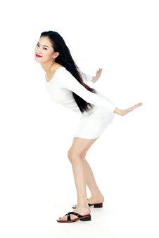 Free Korean Woman Royalty Free Stock Photography - 885777