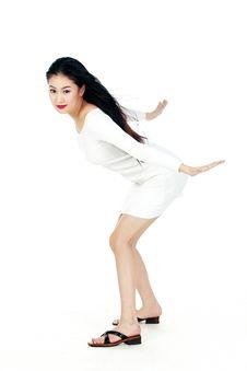 Free Korean Woman Royalty Free Stock Images - 885779