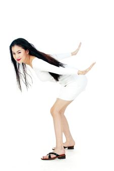 Free Korean Woman Stock Photography - 885782