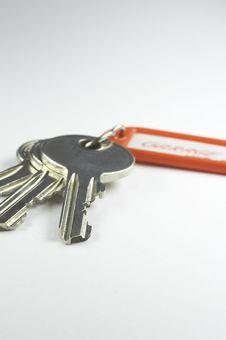 Free Keys With Key Fob 03 Stock Image - 886151