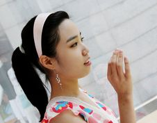 Free Korean Girl Stock Photography - 886502