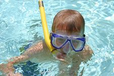 Free Snorkel Fun Stock Photo - 886670