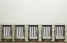 Free Deckchairs Stock Photo - 887180