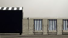 Free Deckchairs Stock Photography - 887192