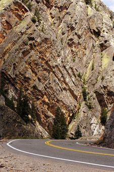 Free Scenic Mountain Highway Stock Photo - 888280