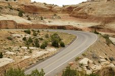Free Scenic Mountain Highway Stock Images - 888284