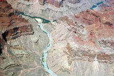 Free Colorado River - Grand Canyon Royalty Free Stock Images - 888629