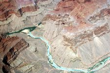 Free Colorado River - Grand Canyon Royalty Free Stock Photos - 888638