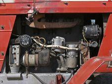 Tarctor Engine Royalty Free Stock Photography