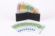 Free Wallet With Banknotes Stock Photography - 889822