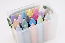 Free Colored Chalk 1 Stock Photography - 889852