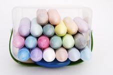 Colored Chalk 3 Royalty Free Stock Photo