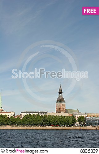 Old Riga view Stock Photo