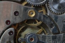 Free Watch Mechanism Royalty Free Stock Photos - 8800308