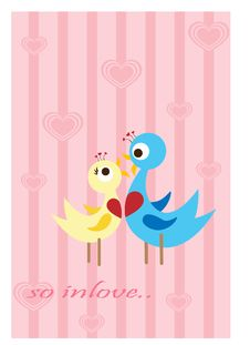 Free Lovebirds2 Royalty Free Stock Images - 8800999
