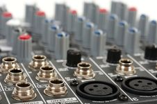 Free Audio Control Console Stock Images - 8801664