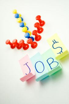 Free Jobs Sign Stock Photography - 8802102