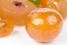 Free Coloured Candied Fruits Stock Photo - 8802530