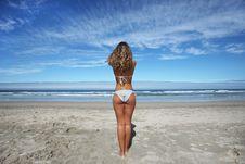 Free Beautiful Girl In The Beach Stock Photos - 8802923