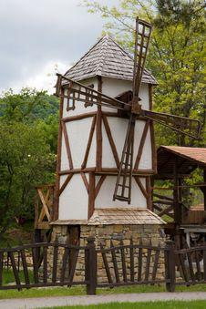Free Windmill Stock Photography - 8804042