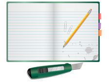 Free Notepad Royalty Free Stock Photography - 8804047