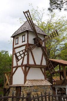 Free Windmill Stock Photography - 8804112
