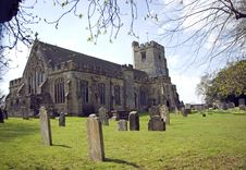 Free The Parish Church Of St Laurence Royalty Free Stock Photos - 8804138