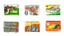 Free Sport: Post Stamps Stock Photos - 8804393