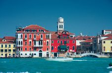 Free Colourful Venice Embankment Sea View Royalty Free Stock Photo - 8804905