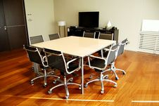 Free Meeting Table Royalty Free Stock Photos - 8805168