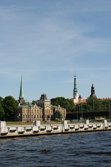 Free Old Riga View Royalty Free Stock Images - 8805389