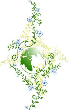 Free Green Planet Royalty Free Stock Image - 8805776