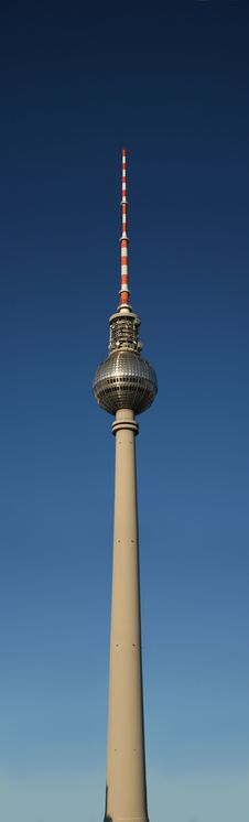 Television Tower Of Berlin Stock Images