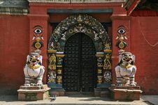 Free Temple Door Royalty Free Stock Image - 8806976