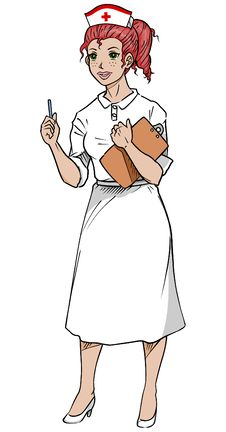 Nurse Woman Clipboard Stock Photos