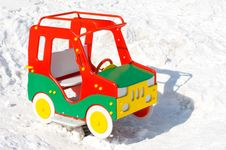 Free Colorful Toy Car Royalty Free Stock Photography - 8807377