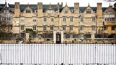 Merton College, Oxford University Royalty Free Stock Image