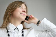 Free Woman Calling Royalty Free Stock Photo - 8808445