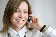 Free Woman Calling Stock Photo - 8808460