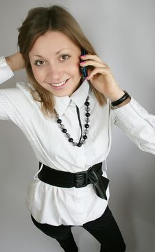 Free Woman Calling Royalty Free Stock Photo - 8808485