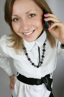 Free Woman Calling Royalty Free Stock Photo - 8808505