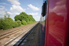 Free Train Track Royalty Free Stock Image - 8808636