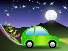 Free Ecological Car (02) Stock Photography - 8809062