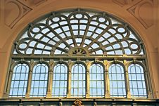 Free Arched Window In Museum Stock Photo - 88037020