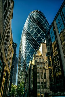 Free Gherkin In London Stock Photography - 88037542