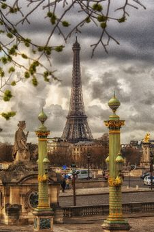 Free Eiffel Tower Stock Photo - 88038820