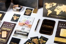 Free Gold Items Royalty Free Stock Image - 88039046