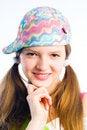 Free Mischievous Girl Stock Photo - 8813990