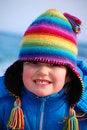 Free Rainbow Girl Stock Image - 8818841